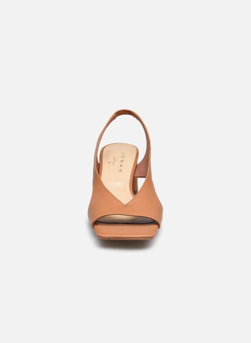 Escarpins Jonak CASIS Marron vue portées chaussures