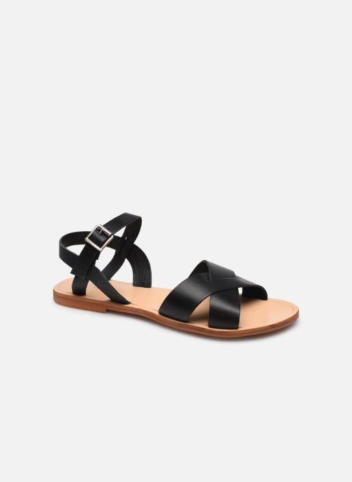 Sandales et nu-pieds Jonak WALLY Noir vue détail/paire