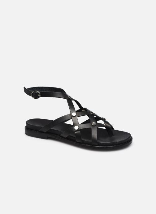 Sandales et nu-pieds Jonak WHITNEY Noir vue détail/paire