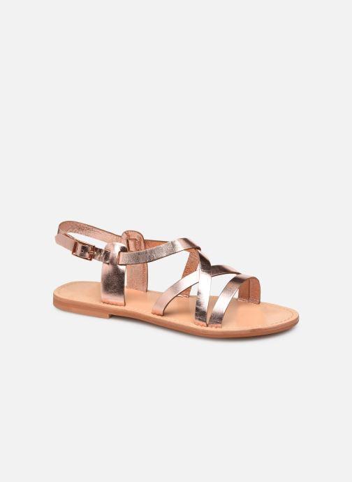 Sandales et nu-pieds Jonak WISCHIA Rose vue détail/paire