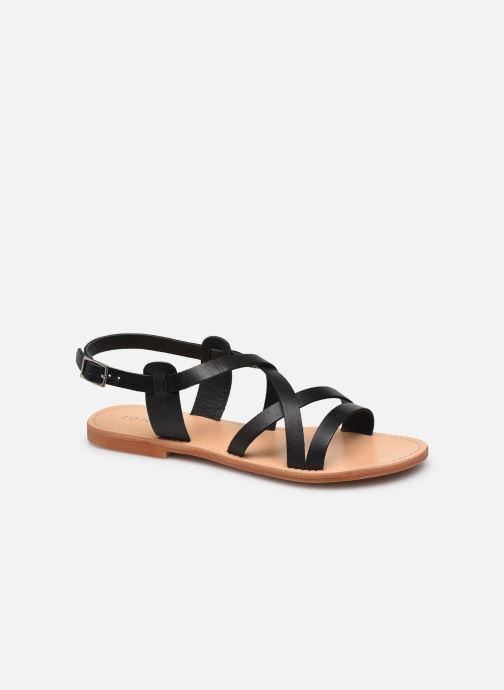Sandales et nu-pieds Jonak WISCHIA Noir vue détail/paire