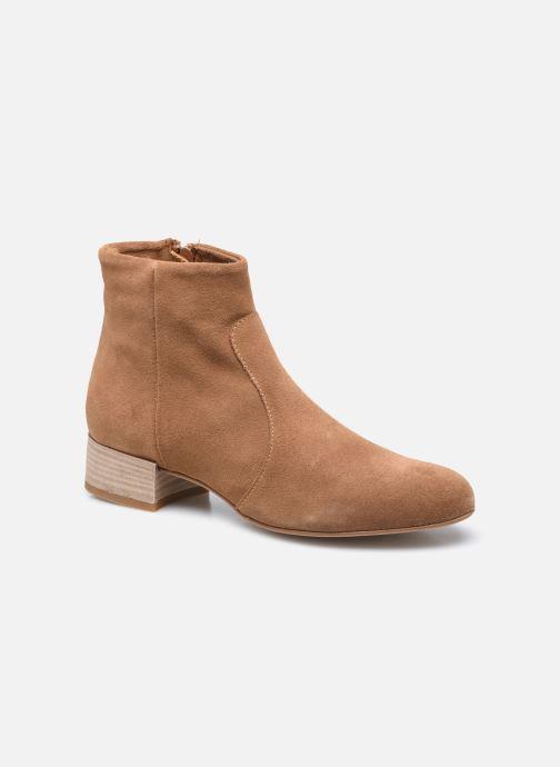 Bottines et boots Jonak NEPETA Marron vue détail/paire