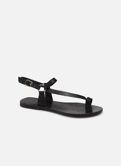 Sandales et nu-pieds Jonak WERNER Noir vue détail/paire