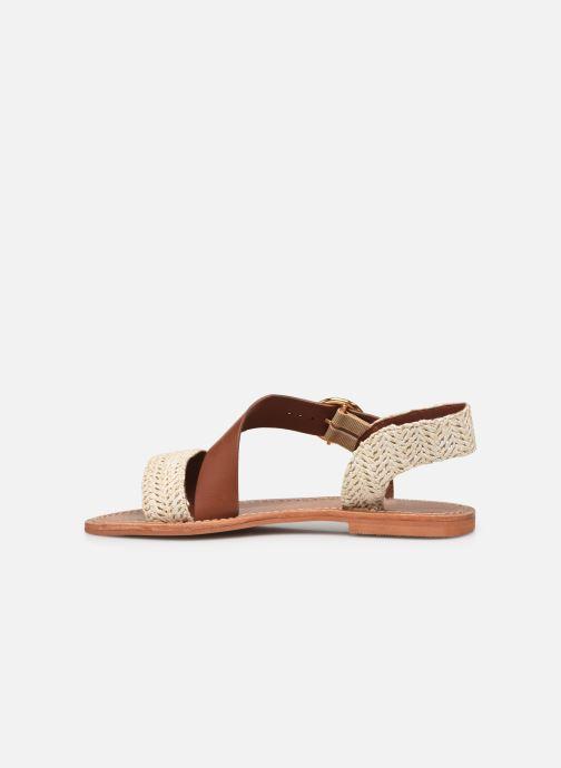 Sandales et nu-pieds Jonak WATSON Marron vue face