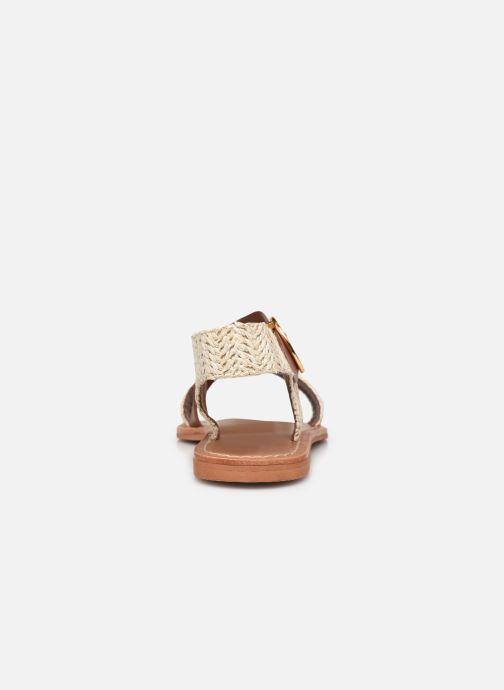 Sandales et nu-pieds Jonak WATSON Marron vue droite