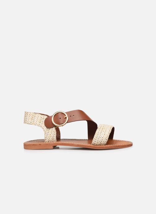 Sandales et nu-pieds Jonak WATSON Marron vue derrière