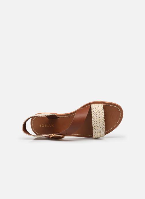 Sandales et nu-pieds Jonak WATSON Marron vue gauche
