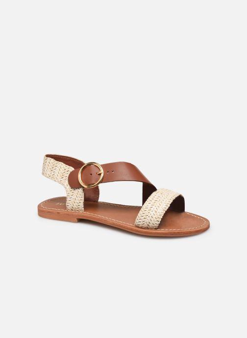 Sandales et nu-pieds Jonak WATSON Marron vue détail/paire