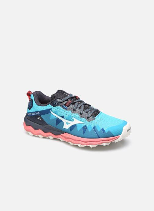 Zapatillas de deporte Mizuno Wave Daichi 6 - W Azul vista de detalle / par