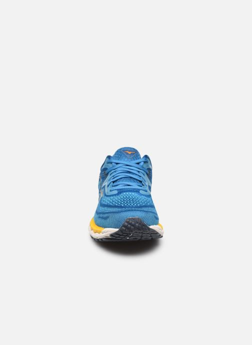 Sportschoenen Mizuno Wave Sky 4 - M Blauw model