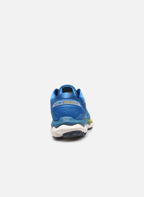 Sportschoenen Mizuno Wave Sky 4 - M Blauw rechts