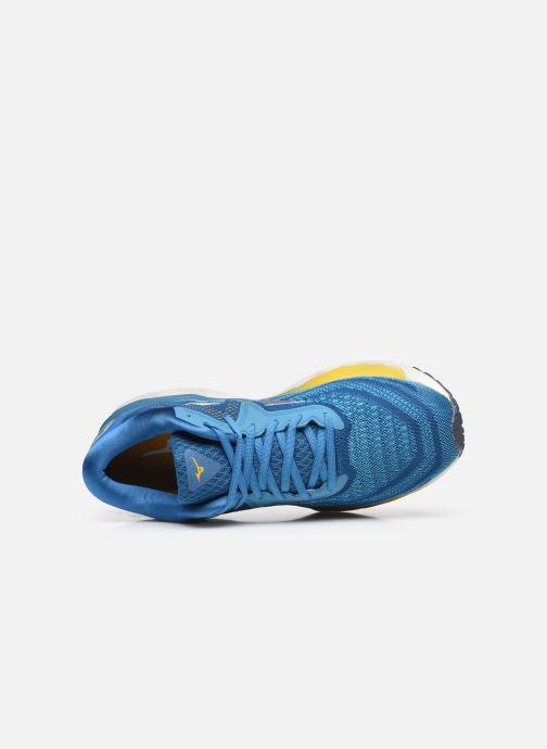Sportschoenen Mizuno Wave Sky 4 - M Blauw links