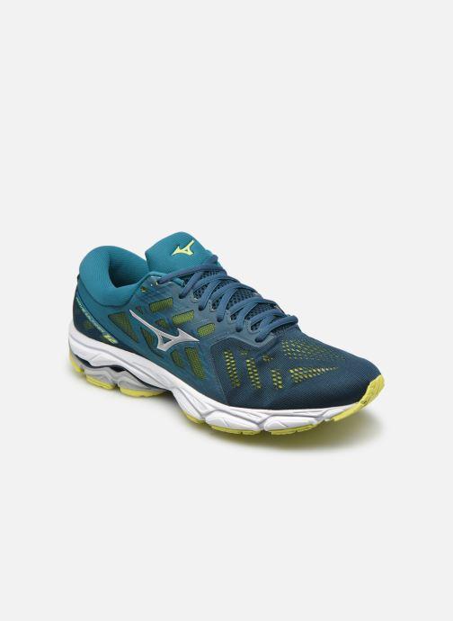 Chaussures de sport Mizuno Wave Ultima 12 - M Bleu vue détail/paire