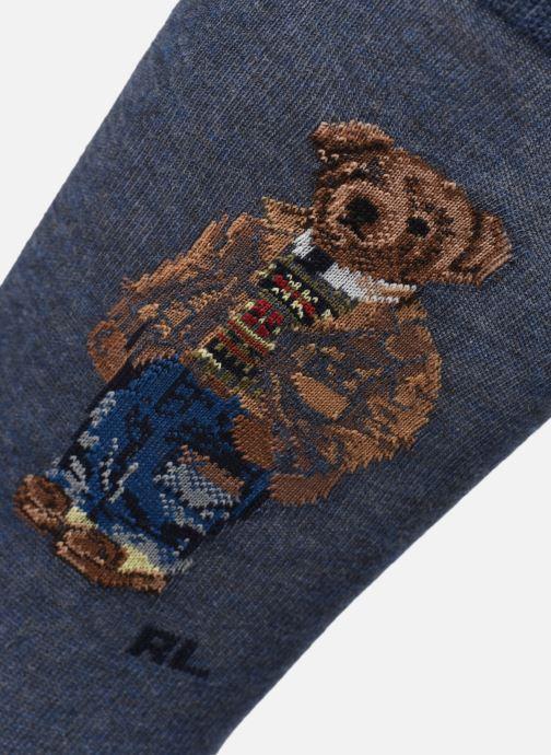 Socken & Strumpfhosen Polo Ralph Lauren 2 Pack Bear-Crew Sock 2 Pack grau schuhe getragen