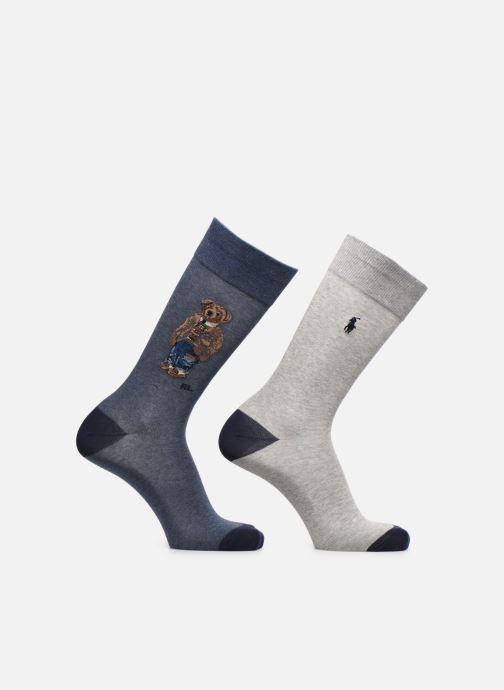 Socken & Strumpfhosen Polo Ralph Lauren 2 Pack Bear-Crew Sock 2 Pack grau detaillierte ansicht/modell