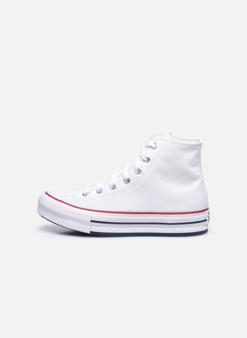 Deportivas Converse Chuck Taylor All Star EVA Lift Canvas Color Hi Blanco vista de frente
