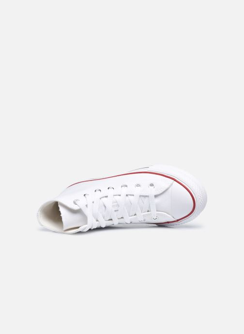 Deportivas Converse Chuck Taylor All Star EVA Lift Canvas Color Hi Blanco vista lateral izquierda