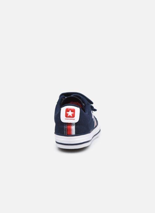 Sneaker Converse Star Player 3V Textile Distort Ox blau ansicht von rechts