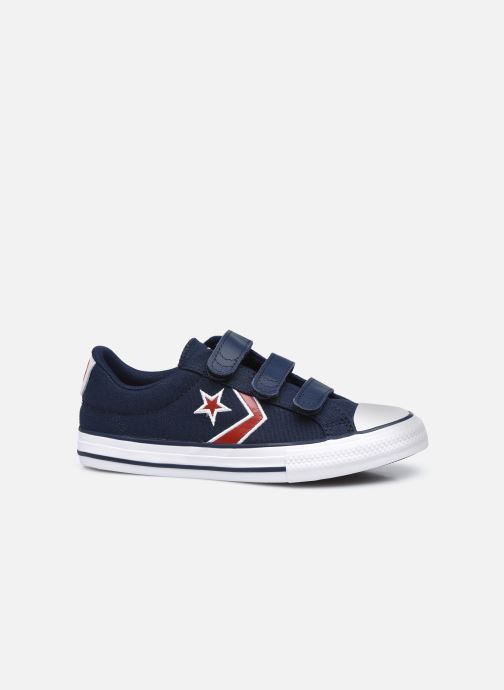 Sneaker Converse Star Player 3V Textile Distort Ox blau ansicht von hinten