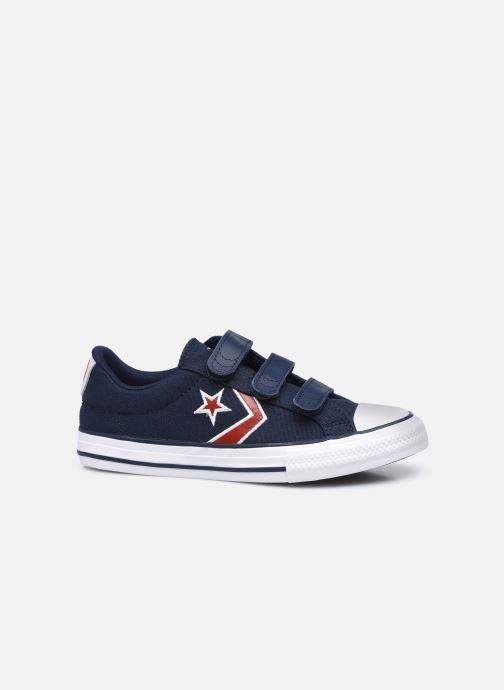 Sneakers Converse Star Player 3V Textile Distort Ox Azzurro immagine posteriore