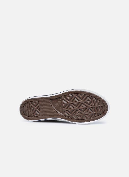 Sneaker Converse Star Player 3V Textile Distort Ox blau ansicht von oben