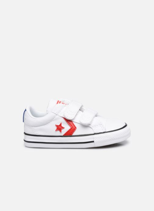 Sneakers Converse Star Player 2V Varsity Canvas Ox Bianco immagine posteriore