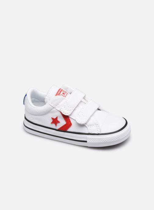 Sneakers Converse Star Player 2V Varsity Canvas Ox Bianco vedi dettaglio/paio