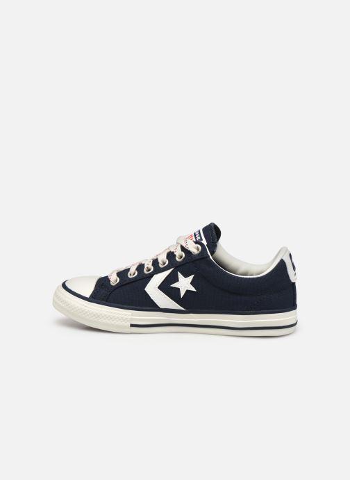 Sneaker Converse Star Player EV Americana Ox blau ansicht von vorne