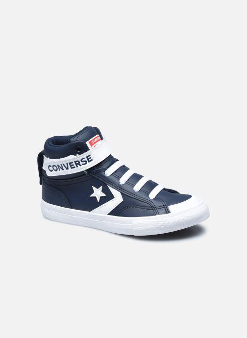 Baskets Converse Pro Blaze Strap Varsity Leather Hi J Bleu vue détail/paire