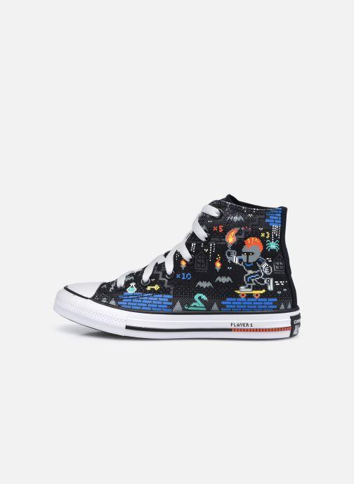 Sneakers Converse Chuck Taylor All Star Boys Gamer Hi Nero immagine frontale