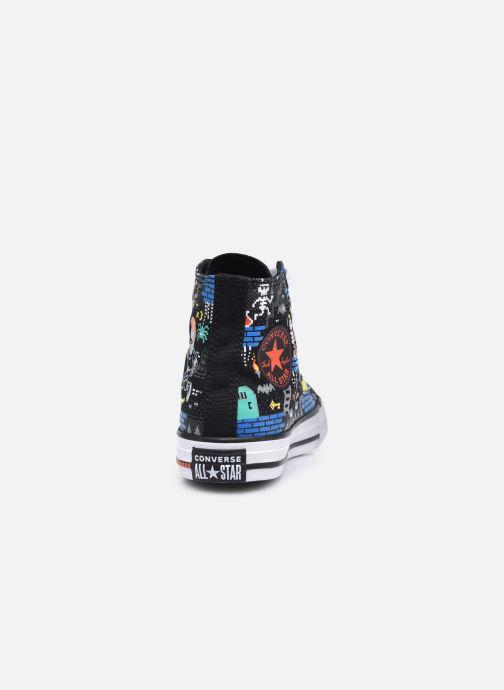 Sneakers Converse Chuck Taylor All Star Boys Gamer Hi Nero immagine destra