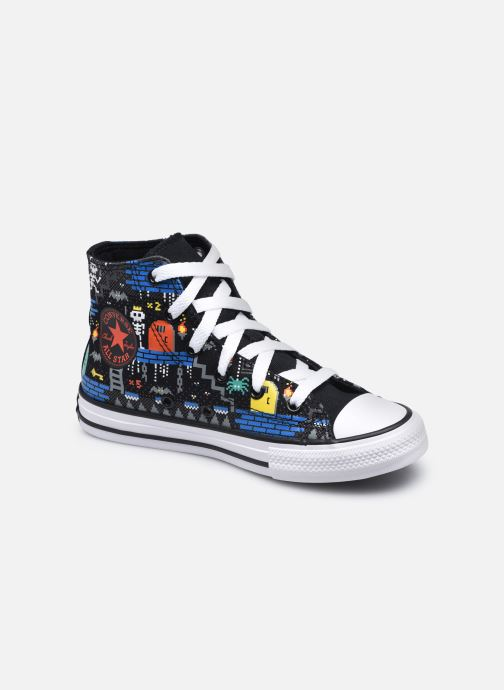 Sneakers Converse Chuck Taylor All Star Boys Gamer Hi Nero vedi dettaglio/paio