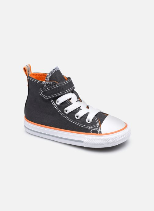 Baskets Converse Chuck Taylor All Star 1V Canvas Color Hi Gris vue détail/paire