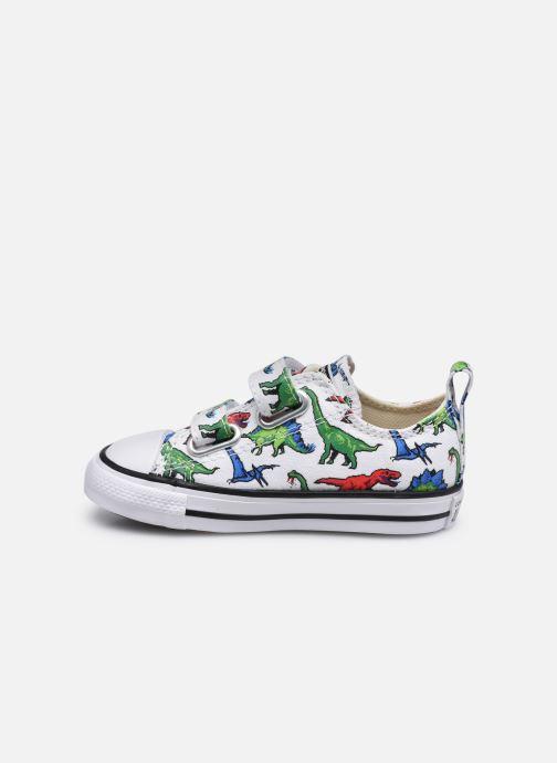 Sneaker Converse Chuck Taylor All Star 2V Kids 8 Bit Ox weiß ansicht von vorne