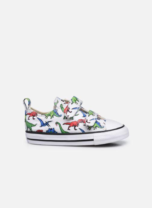 Sneaker Converse Chuck Taylor All Star 2V Kids 8 Bit Ox weiß ansicht von hinten