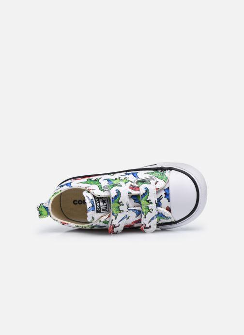 Sneaker Converse Chuck Taylor All Star 2V Kids 8 Bit Ox weiß ansicht von links