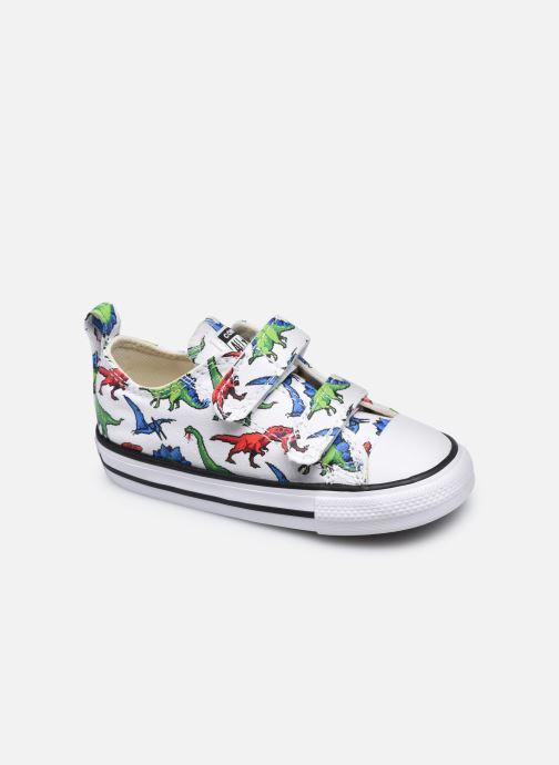 Sneaker Converse Chuck Taylor All Star 2V Kids 8 Bit Ox weiß detaillierte ansicht/modell