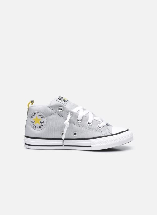 Baskets Converse Chuck Taylor All Star Street Canvas Color Mid Bleu vue derrière