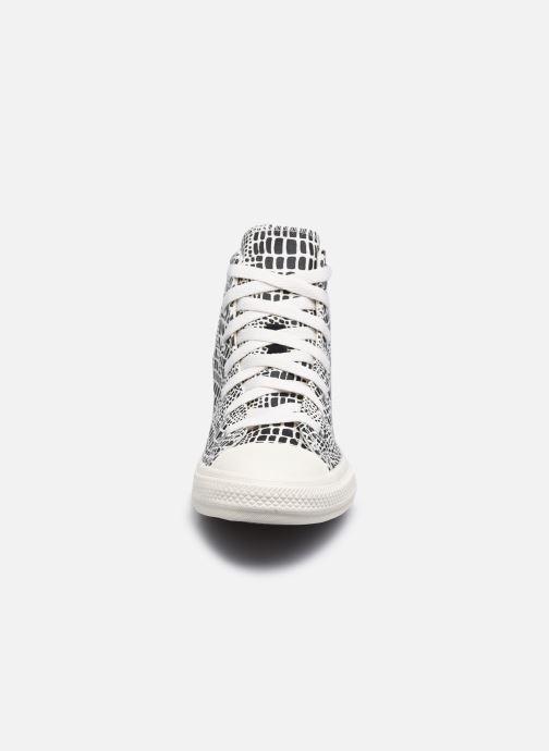 Sneakers Converse Chuck Taylor All Star Digital Daze Hi N Nero modello indossato