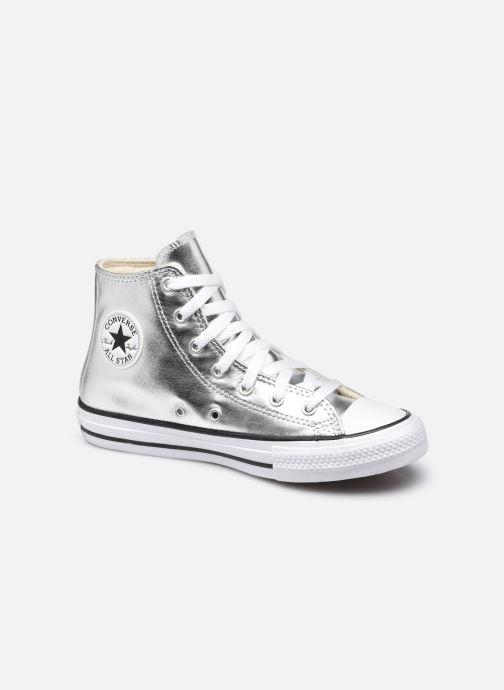 Sneaker Converse Chuck Taylor All Star Metallic Canvas Hi silber detaillierte ansicht/modell