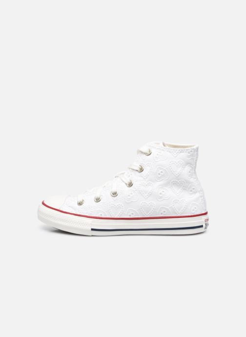 Sneakers Converse Chuck Taylor All Star Love Ceremony Hi Bianco immagine frontale
