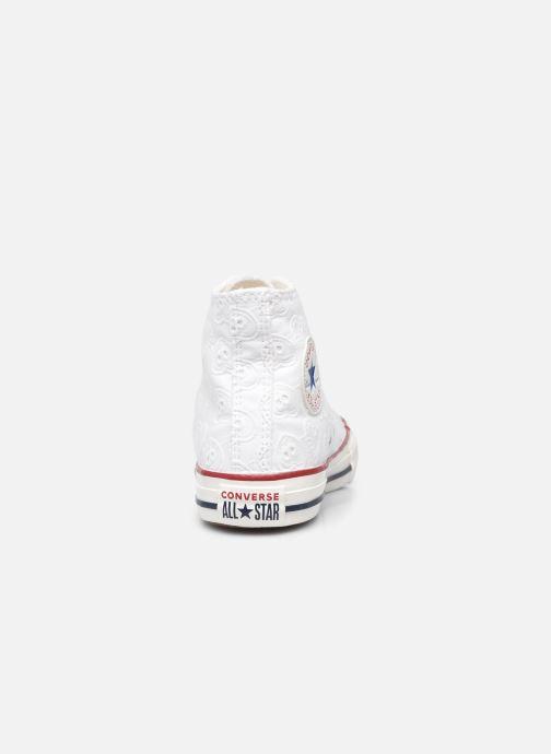 Sneakers Converse Chuck Taylor All Star Love Ceremony Hi Bianco immagine destra