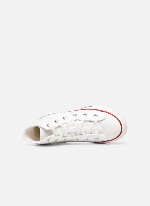 Sneakers Converse Chuck Taylor All Star Love Ceremony Hi Bianco immagine sinistra