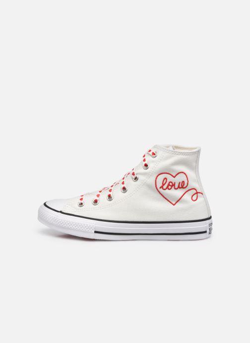 Sneaker Converse Chuck Taylor All Star Love Thread Hi weiß ansicht von vorne