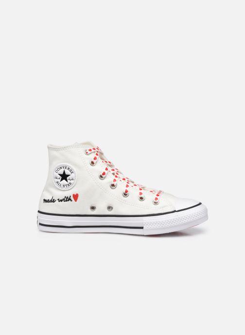 Sneaker Converse Chuck Taylor All Star Love Thread Hi weiß ansicht von hinten