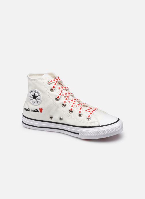 Sneaker Converse Chuck Taylor All Star Love Thread Hi weiß detaillierte ansicht/modell