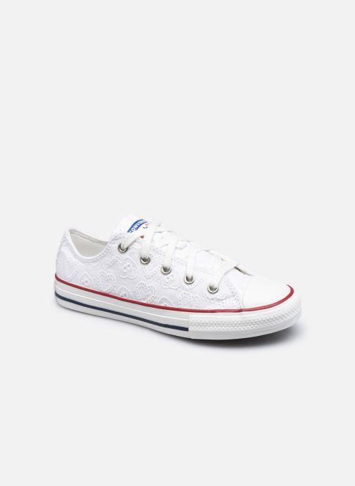 Sneakers Converse Chuck Taylor All Star Love Ceremony Ox Bianco vedi dettaglio/paio