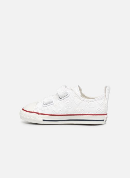 Baskets Converse Chuck Taylor All Star 2V Love Ceremony Ox Blanc vue face