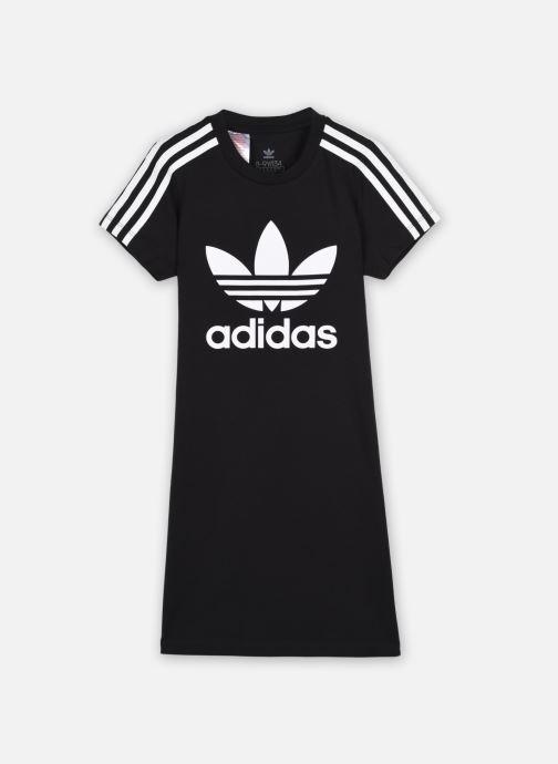 Vêtements adidas originals Adicolor Dress J Noir vue détail/paire