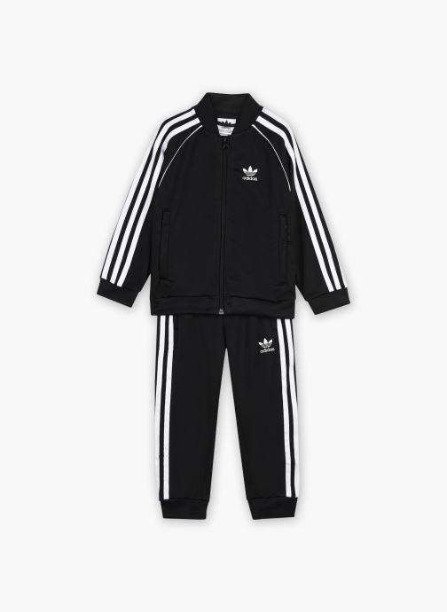 Vêtements adidas originals Sst Tracksuit K Noir vue détail/paire